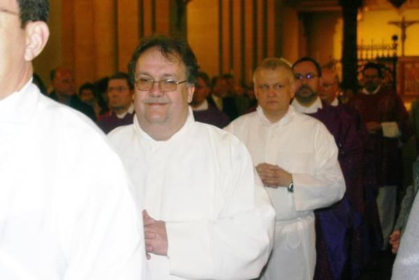 Reinholf Fricke wird zum Diakon geweiht