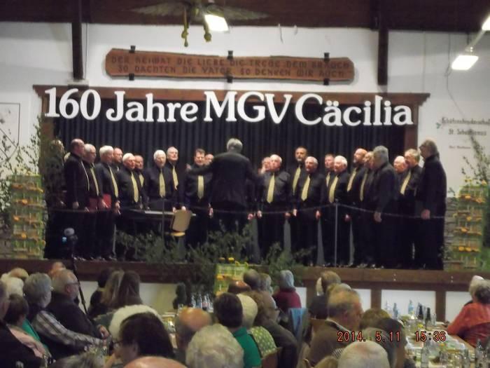 Der Chor feiert sein 160jährigens Bestehen mit einem Konzert in der Westönner Schützenhalle.