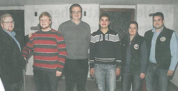 Manuel Hupertz wird zum stellvertretenden Jungschützenmeister des Schützenbezirks Werl-Ense gewählt