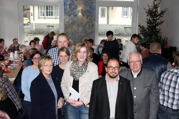 Einweihung der Alten Schule in Niederbergstrasse
